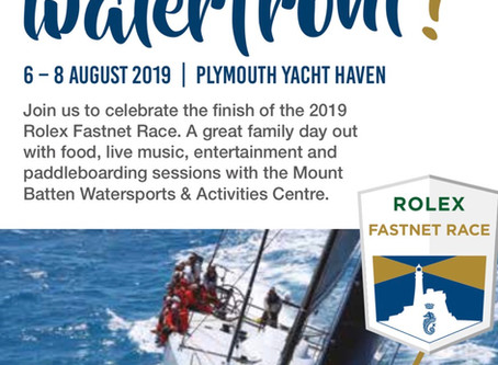 Come and see the FastNet race in Plymouth