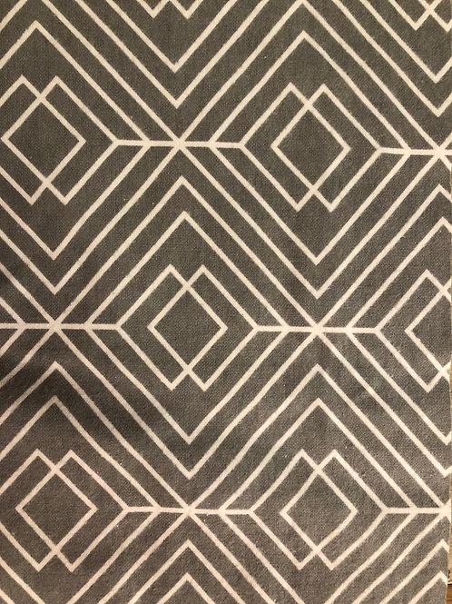 Therapeutic Wrap- Grey Geometric