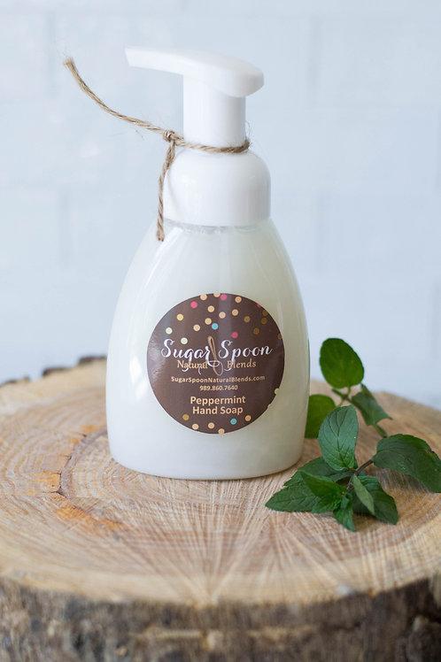 Peppermint Foaming Hand Soap