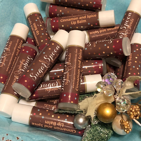 Cinnamon and Spice Lip Balm