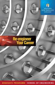Viewbook for Western New England College School of Engineering graduate programs.