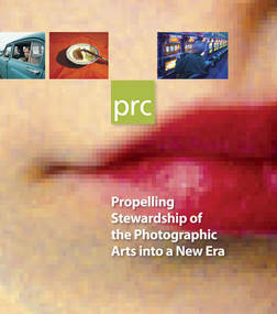 Major Donor Cultivation Brochure for the Photographic Resource Center