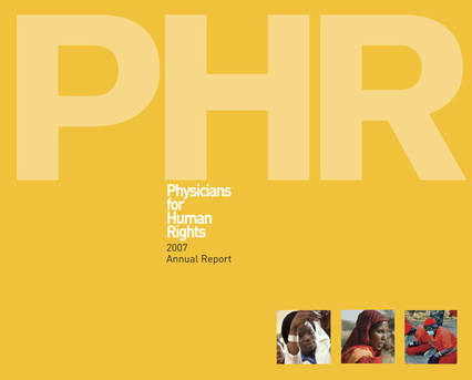 Physicians for Human Rights Annual Report