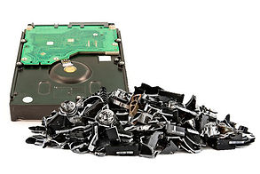 Data Destruction - Computer Parts Recycling