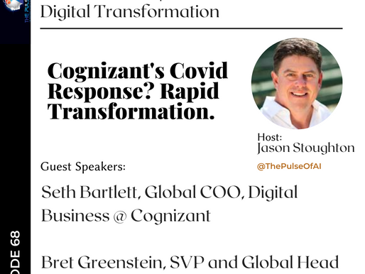 Cognizant's Covid Response? Rapid Internal Transformation.