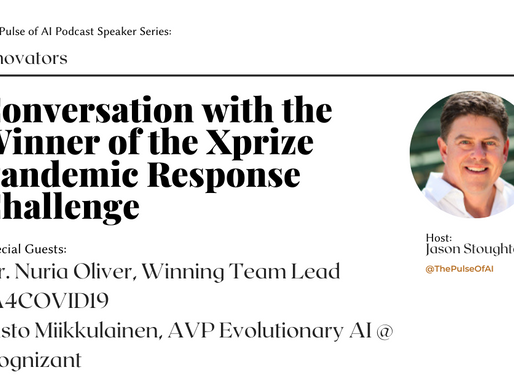 Discussion with the Winner of Xprize Pandemic Response Challenge