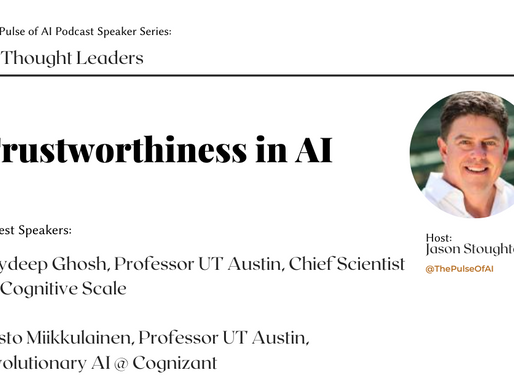 Trustworthiness in AI: Featuring Joydeep Ghosh and Risto Miikkulainen