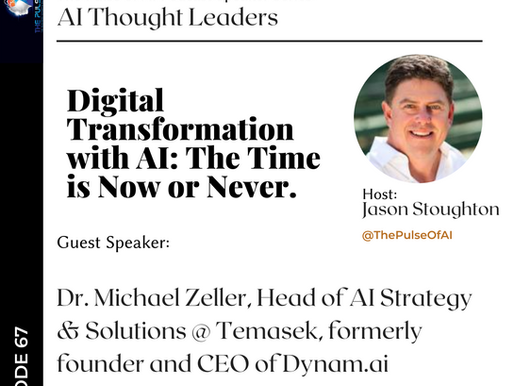Digital Transformation with AI: The Time is Now or Never!