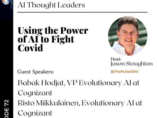 "People Have Asked ""Where is AI in the Fight against Covid""? Cognizant has an Answer."