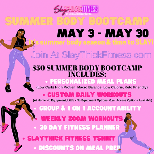 Summer Body Bootcamp: Weight Loss Challenge
