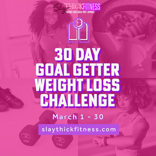 March 30 Day Weight Loss Challenge