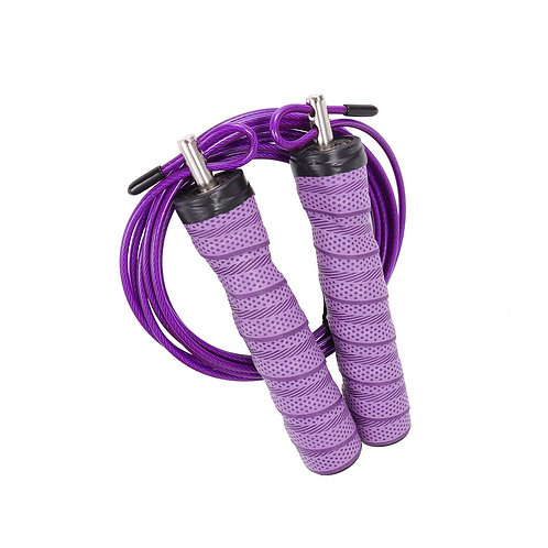 Sweat-Absorbent Bearing Jump Rope Comfortable Handle