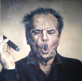 Jack • 160 x 160 cm • oil on canvas