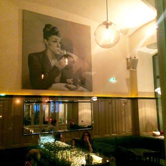Raucherbereich Café Drechsler