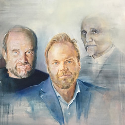 Familie Heintel • 210 x 160 cm • Öl auf Leinwand