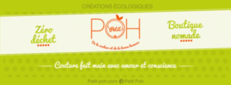 Bannière Petit Poh zéro déchet boutique nomade