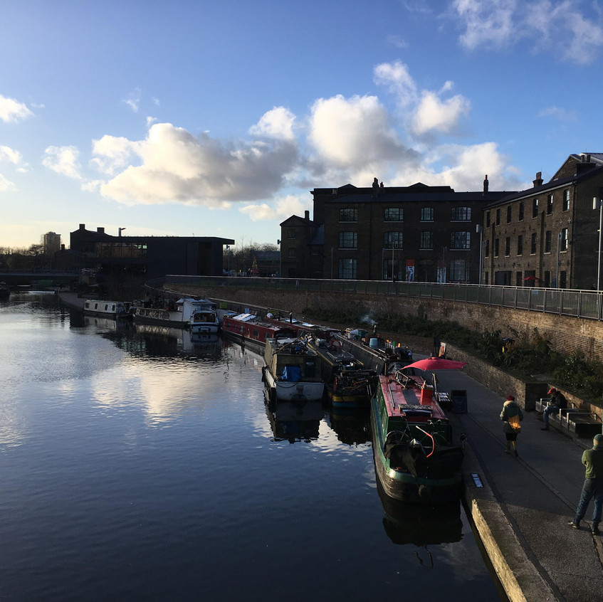 201712_Regent's Canal King's Cross - Laurie