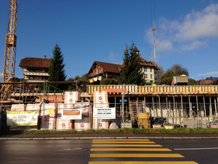 Das Haus nimmt Form an