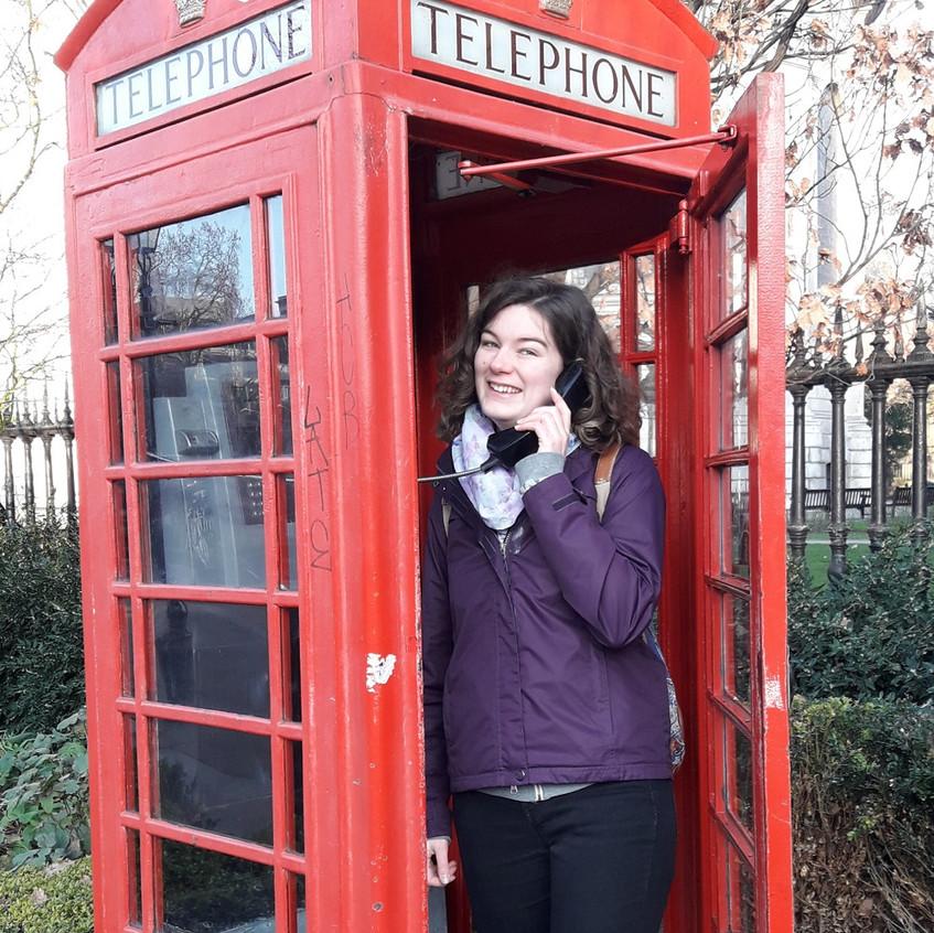 201903_Melissa_Anruf Telefonkabine Londo