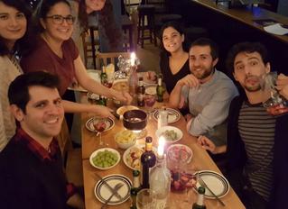 The international dinner