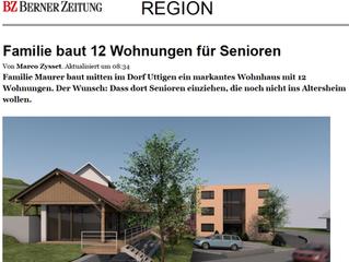 Bericht im Thuner Tagblatt