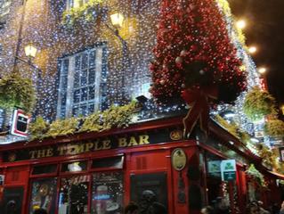 Weihnachtsstimmung in Dublin