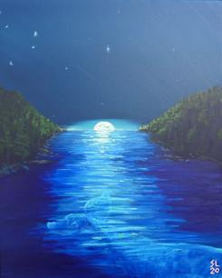 'Moon Rise, Moon Fall'