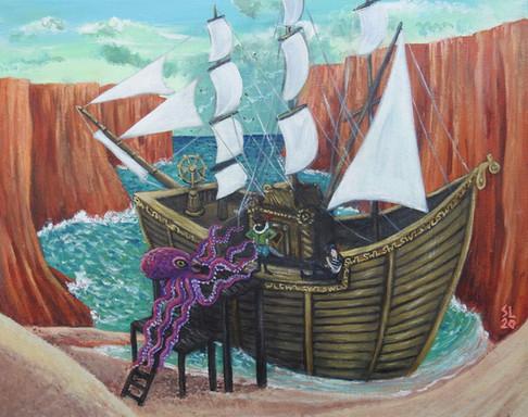 'Ahoy! Permission to Come Aboard Captain?'