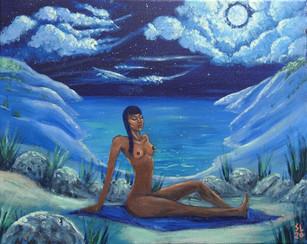 'Moon Bather'