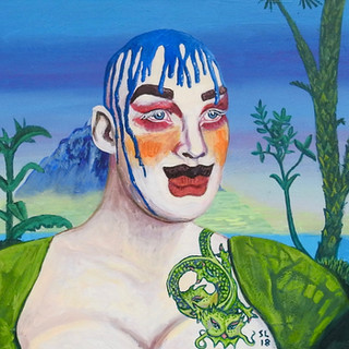 Leigh Bowery in Paradise