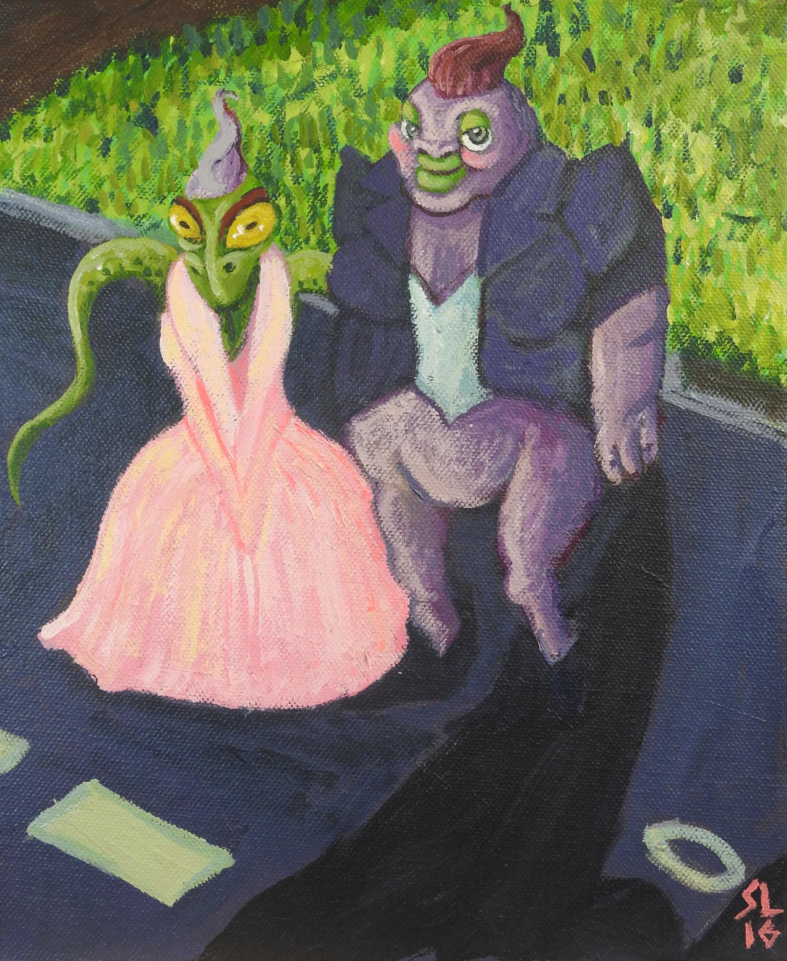 Alien Prom Queens