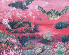 'Pink Turtle Love'