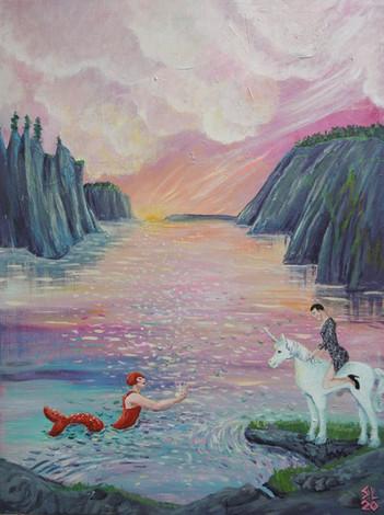 'Fairy Boy Meets Merman Lady of the Lake'