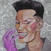 'GRACE!', Watercolour, 2015