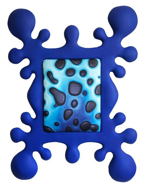 QIQQOO Painting Blue