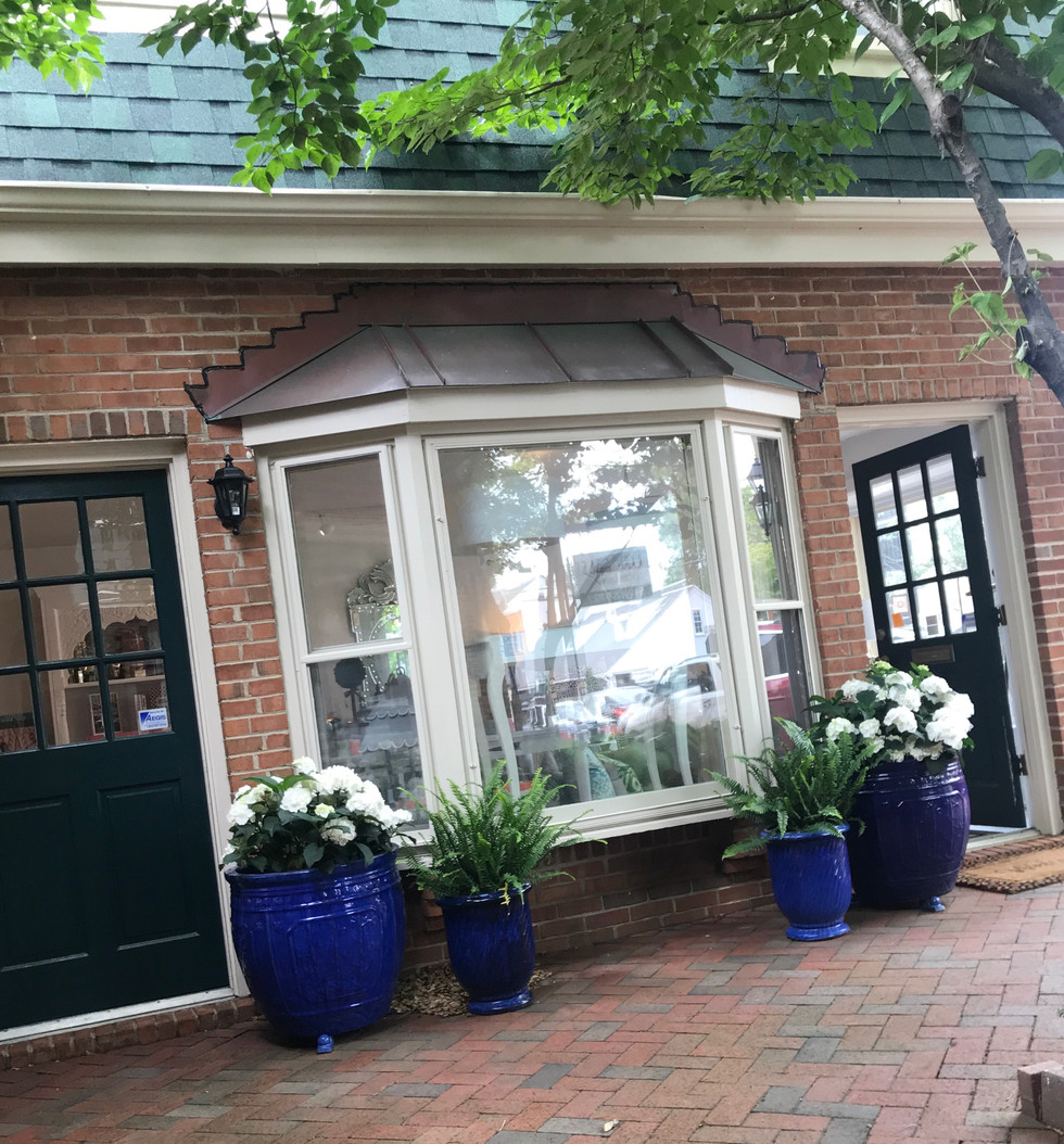 Visit our retail shop and design atelier at 15 East Wasington Street Middleburg, VA