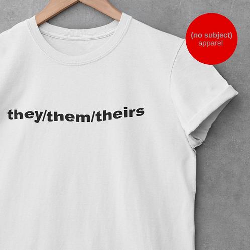 Custom Pronouns Shirt