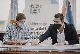 Ushuaia: Municipio y Gobierno juntos para la iniciación del desarrollo deportivo