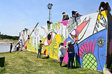 Comodoro Rivadavia: La Municipalidad convoca a artistas comodorenses para pintar el mural