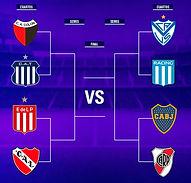 Copa Liga Profesional: Boca-River en cuartos de final