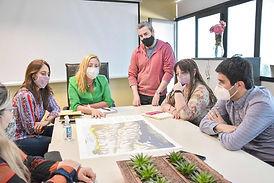 Ushuaia: Los equipos de Vuoto y de Melella se reunieron para tratar la ampliación del ejido urbano