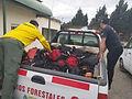 Santa Cruz colabora en el combate de grandes incendios
