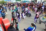 Río Grande: Chacra II se vistió de Carnaval
