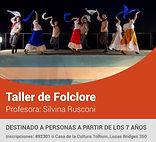 Tolhuin: Inscripciones taller de folclore municipal