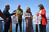 Tierra del Fuego: Gobierno dio la bienvenida a los conductores del programa televisivo
