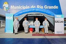 """Río Grande: Comenzó el operativo """"cuidar"""" de testeos rápidos"""