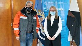 Santa Cruz: Alicia recibió en Casa de Gobierno al interventor de Yacimientos Carboníferos Río Turbio
