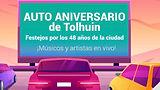 """Tolhuin: Festejo por sus 48 años con un """"Auto aniversario"""""""