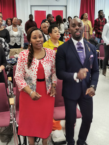 Pastor Ereme and his Wife