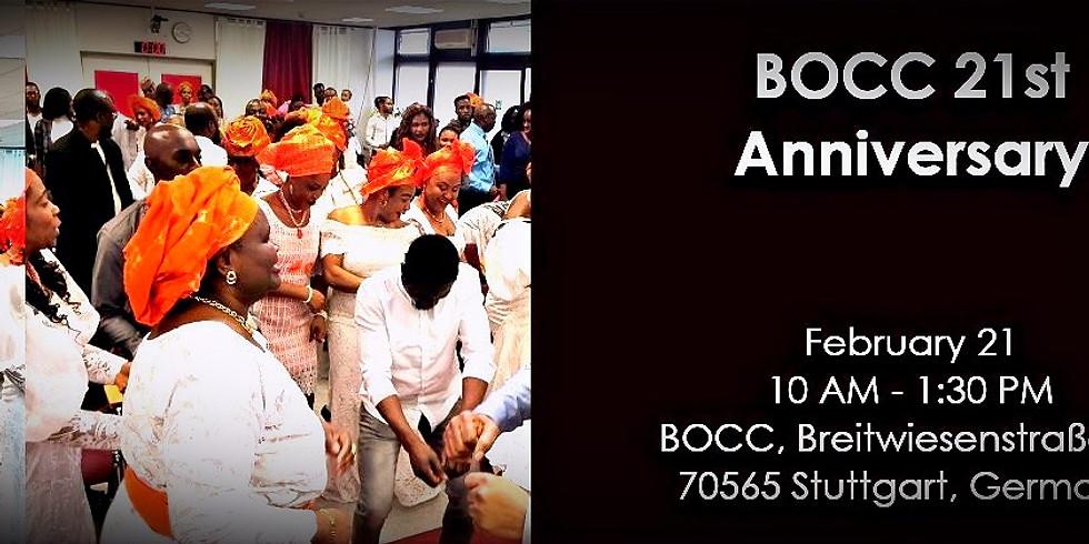 Bocc 21st Anniversary 2021